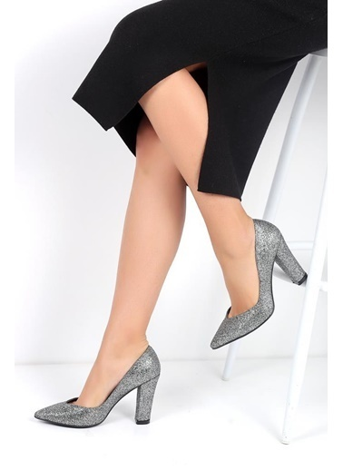 Pembe Potin A2030-18 Kadın Ayakkabı A2030-18 Gümüş